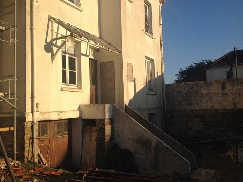 Extension de l 39 habitation avec cage escalier beton l for Cage escalier exterieur
